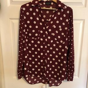 Polkadot Button-up